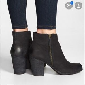 Nordstrom BP Black Trolley Booties